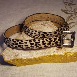 💫EXPRESS leopard look belt💫